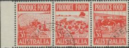 SG 258a ACSC 290ec. Produce Food - 3½d Food strip (AE1/468)